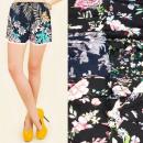 Großhandel Shorts: Damen Shorts, Spitze und Blumen, M-2XL 5588
