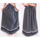 wholesale Skirts: C17506 Long Maxi Skirt, Elegant Summer Pattern