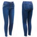 Damen Jeans, 36-44, Dekorativer Reißverschluss, B1