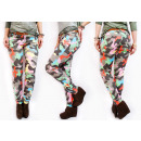 wholesale Trousers: D1421 Colorful  Womens Pants, Moro Pattern, Tubes