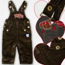 Großhandel Fashion & Accessoires: A19186 Hose mit Hosenträger, Junge, 1-3 Jahre