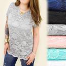 Großhandel Hemden & Blusen: C11179 Elegante Tunika in Plusgröße