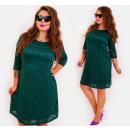 Großhandel Kleider: BI780 Spitzenkleid in Herbstfarben