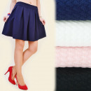 wholesale Skirts: C11146 FASHIONABLE  SKIRT, pleats, MATERIAL 3D