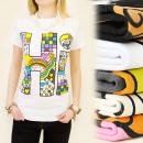 mayorista Articulos de broma: K311 blusa del algodón, TOP, PATRONES PICTÓRICOS