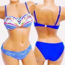 groothandel Badmode: 4626 Dames zomerzwempak, Oceanische stijl