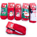 wholesale Childrens & Baby Clothing: Kids Socks, ABS, Winter Patterns, 5053