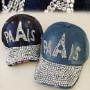 wholesale Headgear: FL208 glamorous  HAT, Basecap JEANS, PARIS