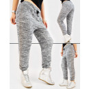 wholesale Sports & Leisure: 4425 Women Sweatpants, Loose Line and Silver Jets