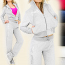 BB52 COMFORTABLE,  velor TRACKSUT, FITNESS, MIX