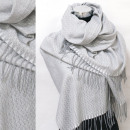 wholesale Scarves & Shawls: Winter Scarf, Shawl, Zigzag pattern, A1854