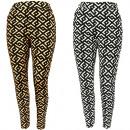 hurtownia Fashion & Moda: Spodnie Damskie, Wiosenne Wzory, S-XL, C17716