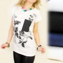 ingrosso Ingrosso Abbigliamento & Accessori: K306 COTONE  CAMICIA, TOP, GIORNALE DI STAMPA
