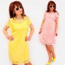 wholesale Dresses: BI796 Lace Dress, Decorative Frills