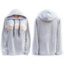 Großhandel Pullover & Sweatshirts: Frauen Hoodie, Sweatshirt, Übergröße S-XL, 5209