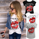 K493 Cotton  Blouse, T-Shirt , último y primer beso