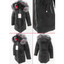 wholesale Coats & Jackets: E31 Winter Womens Jacket, Drawstring, Faux ...