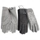 Großhandel Handschuhe: Winter Damenhandschuhe, Chic, S-XL, 5802