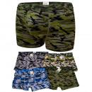 wholesale Lingerie & Underwear: D2698 Cotton Mens  Boxer Shorts, L - 3XL, Moro