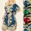 FL472 Oriental  Kleid, Kimono, Klima Reise