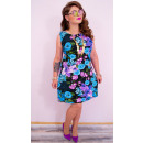 4288 Floral Plus Size Dress, Summer Time