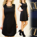 BB64 VERY ELEGANT DRESS WITH NECKLACE