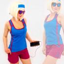 wholesale Sports & Leisure: 4577 Sporty Women Shirt + Shorts, Summer Set