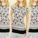 wholesale Fashion & Mode: K367 COTTON  BLOUSE, TOP, RUSTIC MODEL