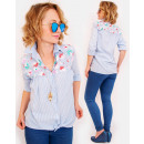 wholesale Fashion & Apparel: R24 Lovely Embroidered Shirt, Impressive Blouse