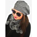 groothandel Kleding & Fashion: A1251 Charming set dames cap + sjaal, Franse stijl