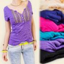 Großhandel Shirts & Tops: BB11 SEXY TOP,  Bluse, schönes Dekolleté, MIX