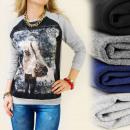 wholesale Pullover & Sweatshirts: K230 GREAT SWEATSHIRT, GRAND VOYAGE OVERPRINT, ...