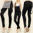 hurtownia Fashion & Moda: B16512 WYGODNE SPODNIE OGRODNICZKI, SEXI ...