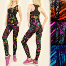 FL480 Sport Set Top + Leggings, Mesh