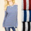 Großhandel Hemden & Blusen: C11414 Lose Bluse, warme Tunika, femininer Look