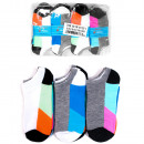 H103 Sneaker Socks, Colorful Women Socks, cotton