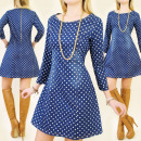 C11171 HAPPY JEANS DRESS, PATTERN IN GROSZKA
