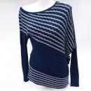 Großhandel Pullover & Sweatshirts: Kaschmirpullover S-XL, Diagonal Zickzack, Flederma
