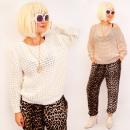 wholesale Pullover & Sweatshirts: A8112 Warm Women Sweater, Interesting Weave