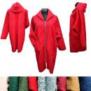 wholesale Fashion & Apparel: Women's Coat, Zipper, Hood, Lamb, UNI, EM102