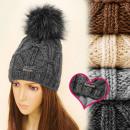 grossiste Vetement et accessoires: C17442 Bonnet chaud et attrayant, polaire ...