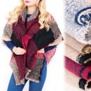 grossiste Vetement et accessoires: B16594 Large écharpe, écharpe d'hiver, large c