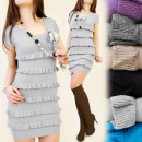 C11117 ROMANTIC,  sweaters DRESS, frills