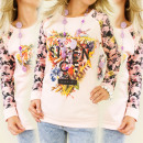 wholesale Childrens & Baby Clothing: K159 candy JACKET:  PRINT SILENCE SAYS A LOT