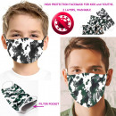 wholesale Working clothes: Protective Mask Moro, Children and Youth 6-16, D58