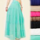 wholesale Fashion & Apparel: A1911 Airy, Long Women Skirt