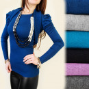 wholesale Shirts & Blouses: C11137 Set Blouse + Bolero, Sweater