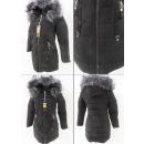 wholesale Coats & Jackets: E16 Winter Women Jacket, Pendants, Black