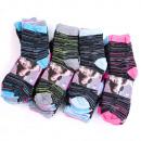 wholesale Fashion & Apparel: Womens Socks, cotton , Melange, 35-42, 4978