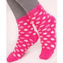 wholesale Coats & Jackets: Socks fuzzy, warm, polka dots 35-41, 5733